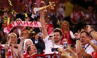 Lenkų rinktinė po 40 metų pertraukos tapo Pasaulio tinklinio čempione