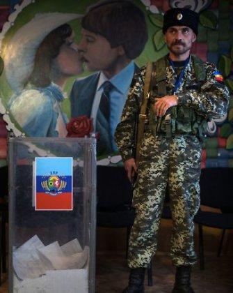 """Už """"rinkimų"""" okupuotose Ukrainos teritorijose pripažinimą Rusijai gresia naujos sankcijos"""