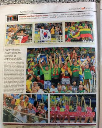 Pasaulio krepšinio čempionatas įdomus tik regioninei Ispanijos spaudai