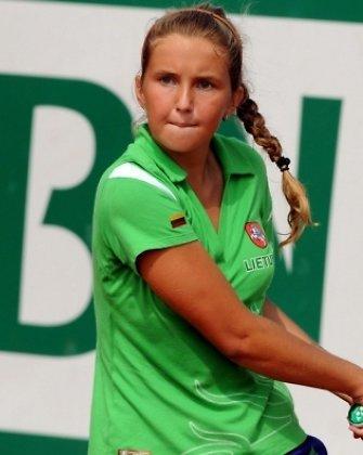Justina Mikulskytė pateko į aštuntfinalį moterų turnyre Egipte