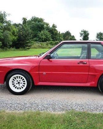 """1989-ųjų """"Audi Quattro"""" gali kainuoti daugiau nei du milijonus litų"""