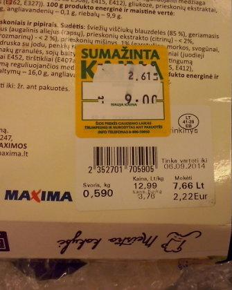 """""""Maxima"""" ir """"paskutinės minutės"""" kainos: kodėl pigiau = brangiau?"""