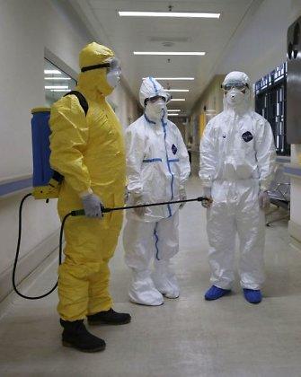 Pratybas atlikusi Nacionalinė laboratorija teigia esanti pasiruošusi identifikuoti Ebolos virusą