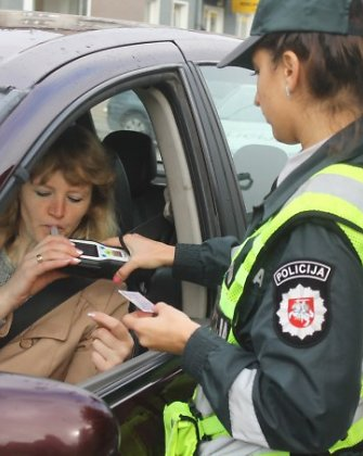 Per savaitę Kauno policija nubaudė 473 vairuotojus, bet nė vienas jų nevairavo chuliganiškai