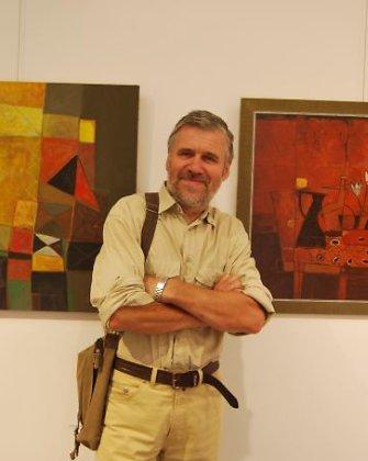 Dusetos – talentų lopšys: vaikų gabumus atskleidžia dailininkas Romualdas Pučekas
