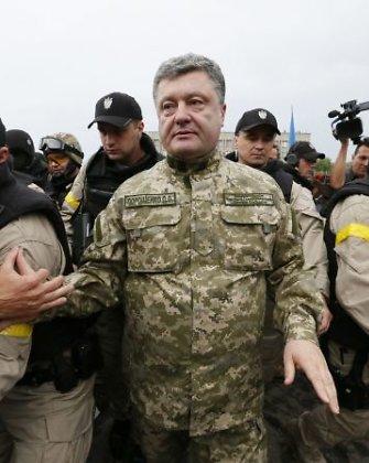 Petro Porošenka: laimėti karo Donbase vien tik kariniais metodais neįmanoma
