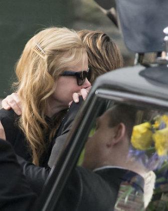 Nicole Kidman palaidojo savo tėvą Antony Kidmaną