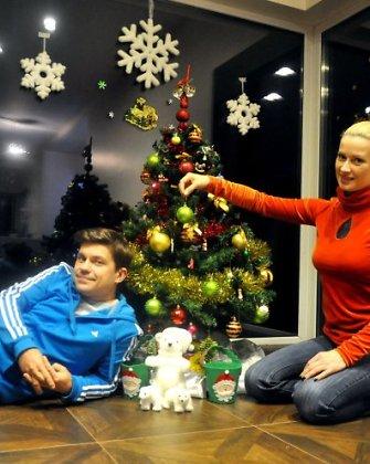 Mano Kalėdos: Renatos ir Deivido Norvilų sūnus Kalėdų Senio prašo žoliapjovės