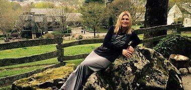 42-ąjį gimtadienį Eglė Jackaitė pasitiko Lurde su būriu piligrimų