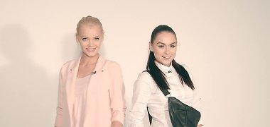 """""""Pinup girls"""" merginos Simona Nainė ir Viktorija Sutkutė jau svarsto apie vaikus"""