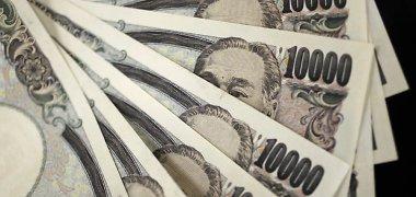 JAV dolerio kursas auga jenos ir euro atžvilgiu