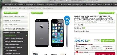 """Naujaisiais """"iPhone"""" Lietuvoje prekiaujama ir nesulaukus """"Apple"""" leidimo"""