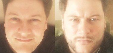Merūnas Vitulskis parodė išvaizdos pokyčius: nusiskuto barzdą