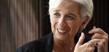 Christine Lagarde yra vienintelė kandidatė į TVF vadovo postą