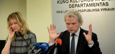 Klemensas Rimšelis atleistas iš Kūno kultūros ir sporto departamento vadovo pareigų
