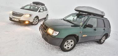 """""""Subaru"""" kelionė į Laplandiją (Suomija)"""