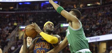 """LeBronas Jamesas pranoko Ray Alleną, """"Cavaliers"""" nugalėjo """"Celtics"""""""