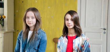 Inetos Stasiulytės ir Eduardo Gimenezo dukra Upė debiutavo televizijoje