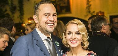 Indrė ir Jogaila Morkūnai sulaukė šeimos pagausėjimo: porai gimė dukra