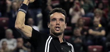 Sofijos čempionas Roberto Bautista-Agutas pateko į ketvirtfinalį Roterdame