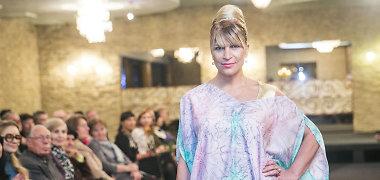 Advokatė Svetlana Pronina žengė podiumu: vienam vakarui tapo modeliu