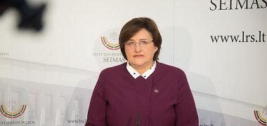 Loreta Graužinienė: socialinis modelis Seime bus svarstomas pavasarį, neeilinės sesijos žiemą nebus