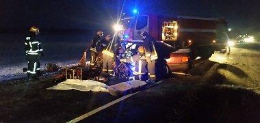 """Skausmo ir pagalbos šauksmas: kaip """"Via Baltica"""" kelyje žuvo """"Audi"""" vairuotoja?"""