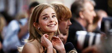Aktorius Radcliffe'as prisipažįsta, kad jį pribloškė aistringas Watson bučinys