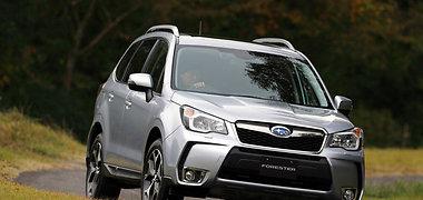 """Naujasis """"Subaru Forester"""" taikosi į savo klasės viršūnę"""