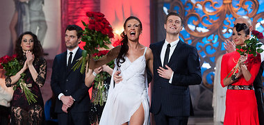 """Projektą """"Kviečiu šokti. Pažadinta aistra"""" užtikrintai laimėjo Katažina Nemycko ir Dainius Dimša"""