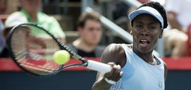 Venus Williams tęsia sėkminga pasirodymą Taivane