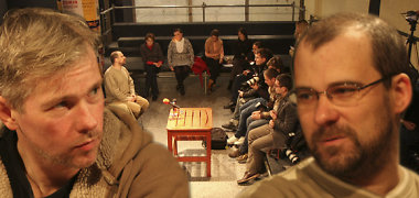 Aidas Giniotis nesureikšmina Andriaus Kaniavos išėjimo iš Keistuolių teatro