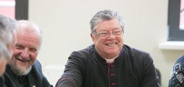 Dusetų klebonas Stanislovas Krumpliauskas: myliu Lietuvą, nes galiu nevaržomai tikėti Dievą