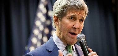 Johnas Kerry išvyko į Pietryčių ir Rytų Aziją