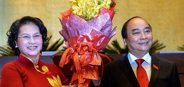 Vietnamo parlamentas prisaikdino naująjį premjerą
