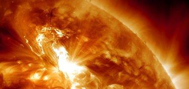 Dėl padidėjusio saulės aktyvumo sukeltos audros gali sutrikti elektros energijos tiekimas