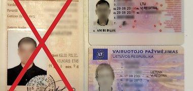 """""""Regitra"""" įspėja: senus vairuotojo pažymėjimus reikia keisti nelaukiant 2017 m."""