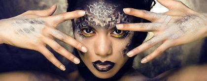 Įspūdingas makiažas Helovinui: idėjos iš kino ekranų