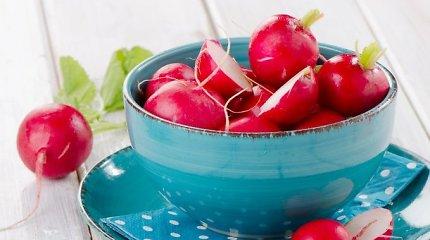 Sergate diabetu – valgykite ridikėlius