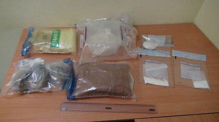 Šilutės rajone narkotikų prekeiviai buvo sukaupę apie kilogramą įvairių kvaišalų
