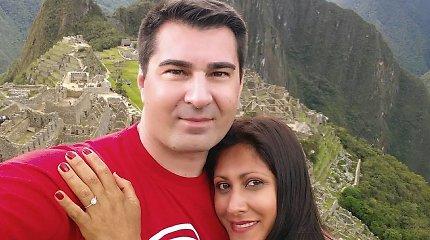 Buvęs Mios širdies draugas Radvilas Bubelis Peru susižadėjo su Mariana Pauta Arevalo