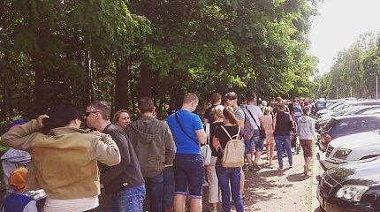 Tėvo dieną Kauno zoologijos sode apsilankė rekordinis lankytojų skaičius