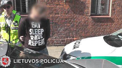 Apykojė netrukdė užkietėjusiam Klaipėdos narkotikų prekeiviui daryti naujų nusikaltimų