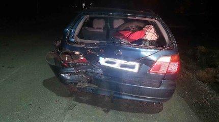Jonavos policija ieško avariją sukėlusio ir iš įvykio vietos pasprukusio vairuotojo