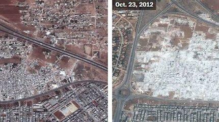 Sirijos košmaras iš paukščio skrydžio