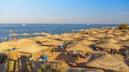 Į stebėjimo kameromis aplipdytus Egipto kurortus vykti rusai galės jau greitai?