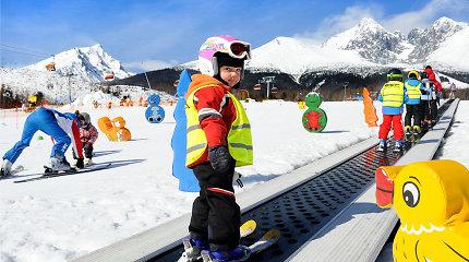 Kur, kada ir kaip mėgautis ekstremaliomis žiemos atostogomis su vaikais?