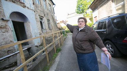 Aplink Pilvelių šeimos butus Vilniaus Totorių gatvėje dabar sukasi žiurkės