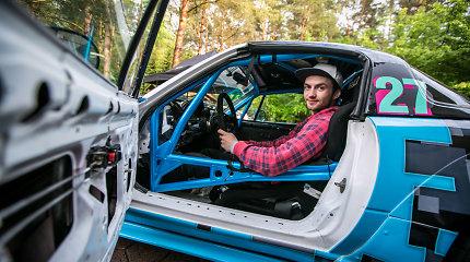 """Lenktynininkas Tauras Tunyla apie savo """"Mazda MX-5"""": """"Daug arklio galių padarytų ją lėtesne"""""""