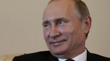 Rusijos vadovas Vladimiras Putinas pažadėjo remti Palestinos valstybės įkūrimą